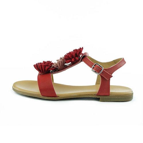 Gallucci Sandale Rot