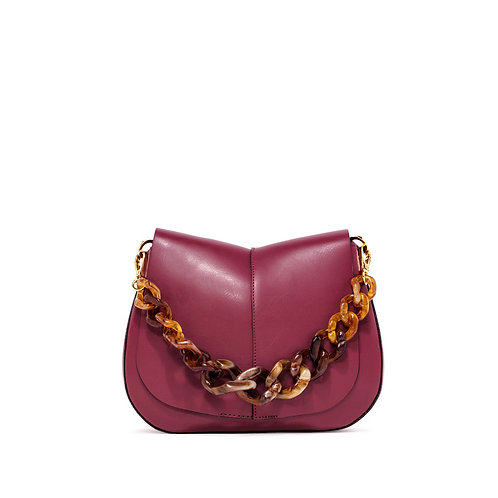 Gianni Chiarini Helena Shoulder Bag burgund