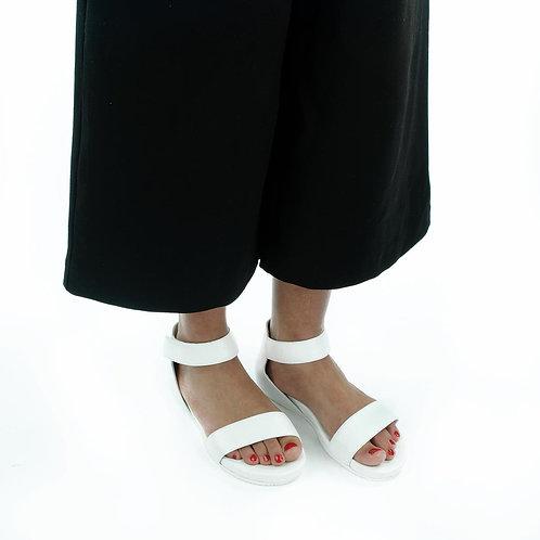 Truman's Sandale Weiß Klett