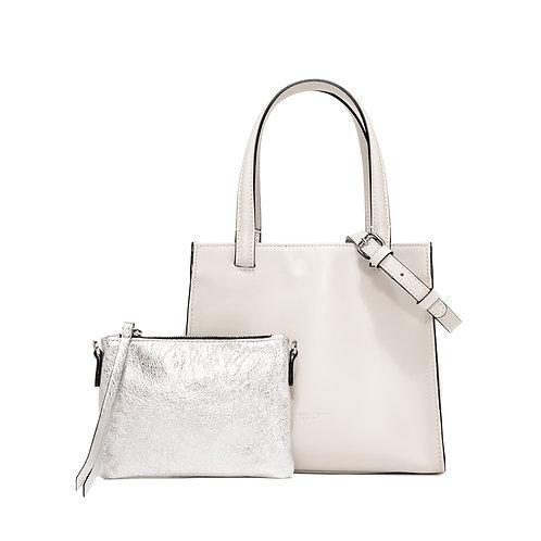 Gianni Chiarini Cube Hand Bag weiss