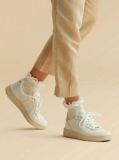 Marcmarcs Socken Shelly Weiß