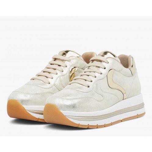Voile Blanche Sneaker Maran Gold