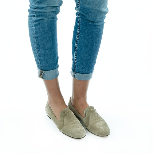 AGL Loafer Taupe