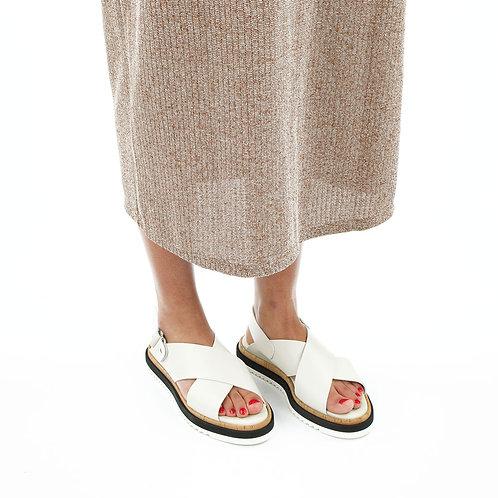 AGL Sandale Offwhite