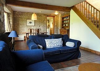 Living Room at Juniper Cottage