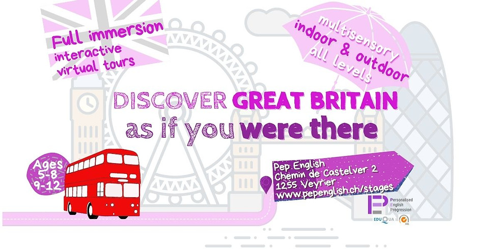 Discover Great Britain summer camp | Ages 9-12