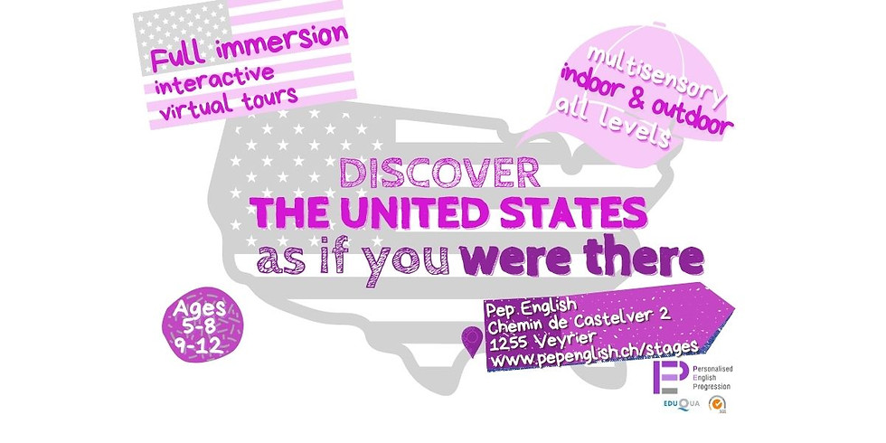 Discover the United States summer camp | Ages 5-8