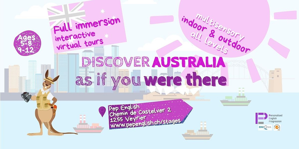 Discover Australia summer camp | Ages 9-12