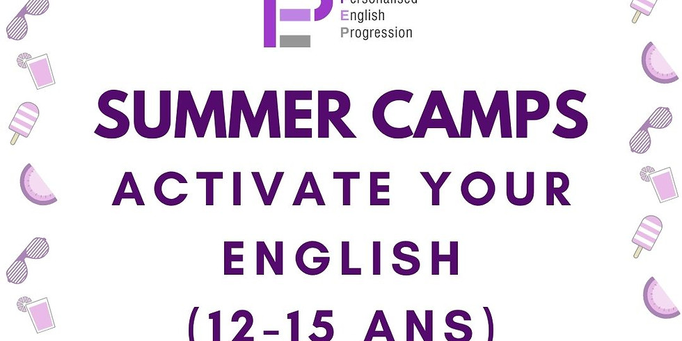 Activate Your English (12-15 ans)