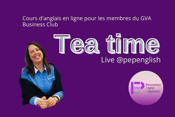 Tea Time, Live @pepenglish - Advanced