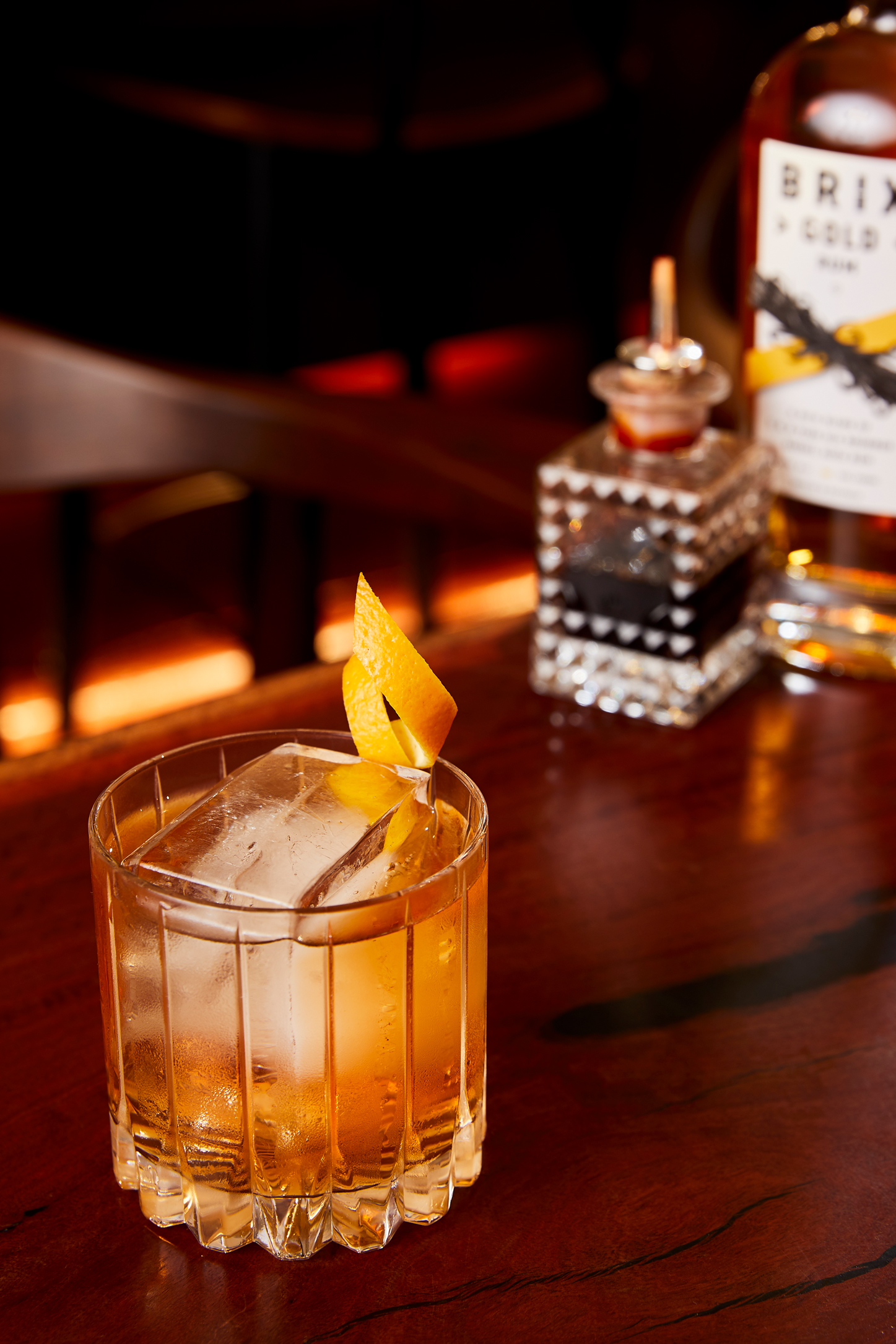 Classic Rum Old Fashioned