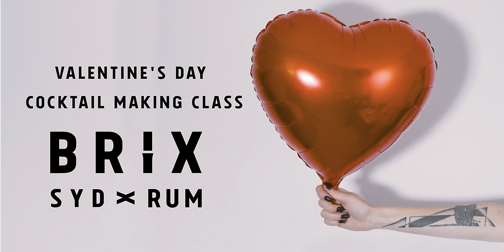 Valentine's Day Cocktail Making Class