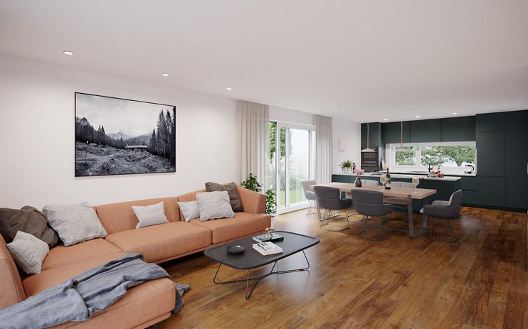 KIRCHWEG - Wohnzimmer