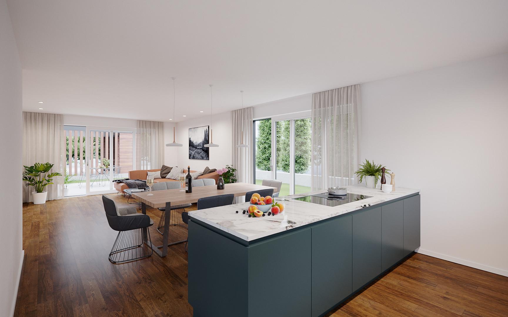KIRCHWEG - Küche-Esszimmer