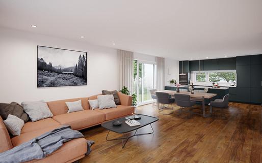 KIRCHWEG | Küche, Wohn- & Esszimmer