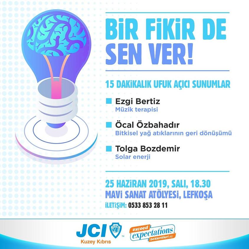 """JCI Kuzey Kıbrıs """"Bir Fikir de Sen Ver"""""""