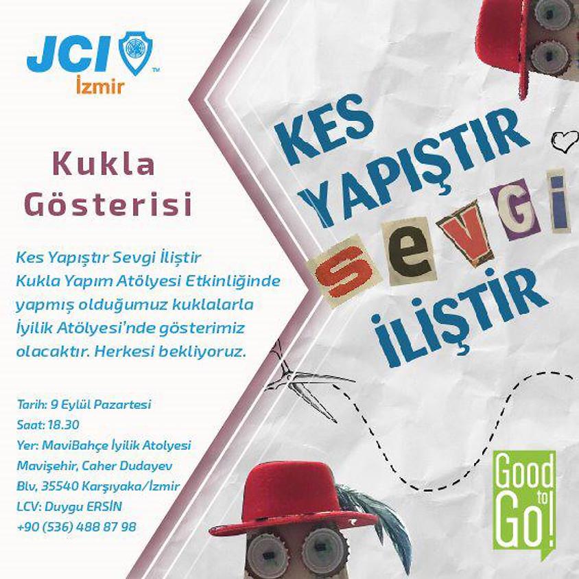 JCI İzmir Kes Yapıştır Sevgi İliştir