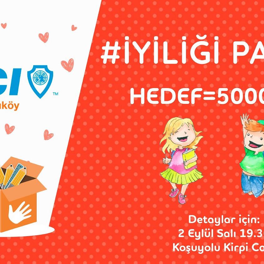 JCI Kadıköy-İYİLİĞİ PAYLAŞ Etkinliği