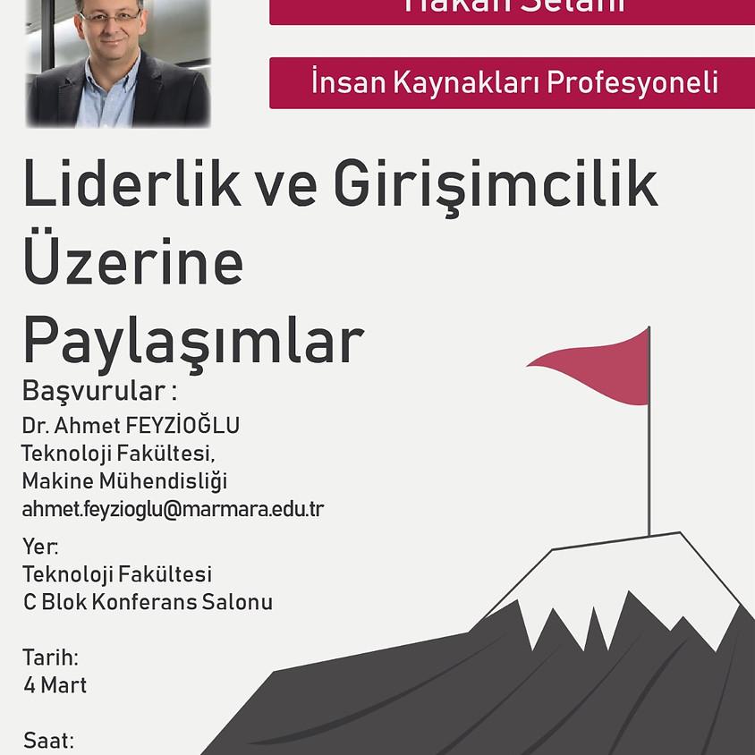 JCI Kadıköy II. Hafta Hakan Selahi Liderlik ve Girişimcilik Üzerine Paylaşımlar