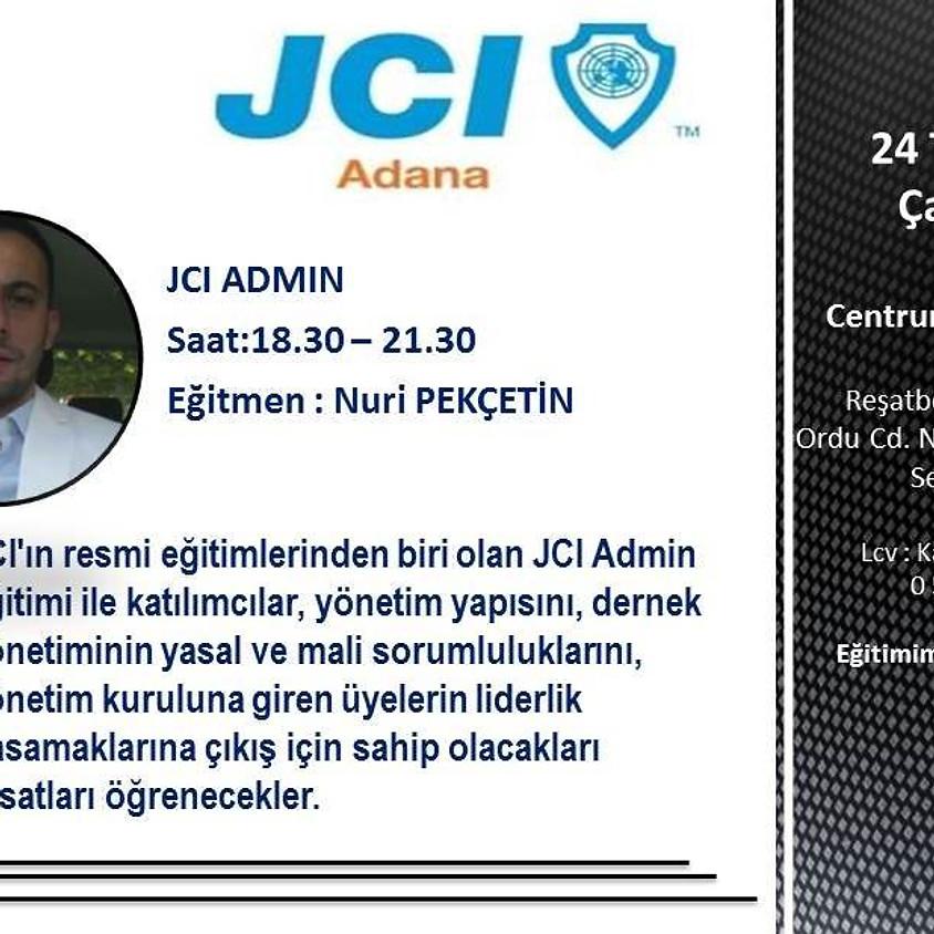 JCI Adana Şubesi - JCI Admin Eğitimi