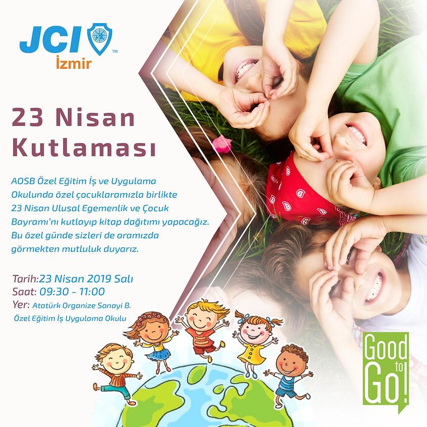 JCI İZMİR 23 Nisan Kutlaması & Kitap Dağıtımı Etkinliği