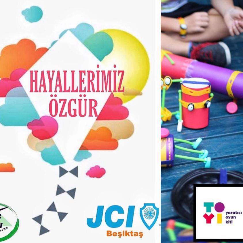 '' Hayallerimiz Özgür '' JCI Beşiktaş