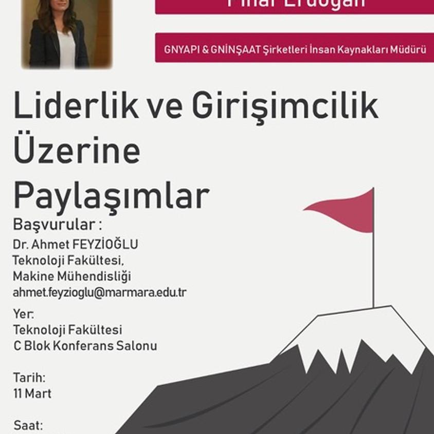 """JCI Kadıköy Lidersen """"GNYAPI & GNİNŞAAT Şirketleri İnsan Kaynakları Müdürü""""  Pınar Erdoğan Konulacı"""