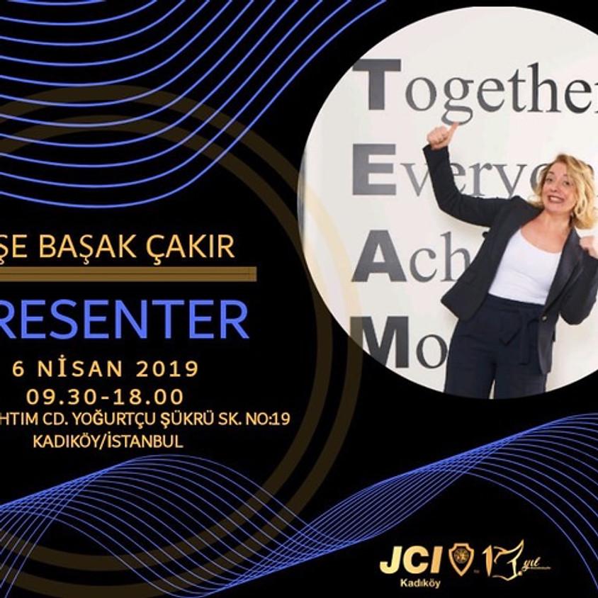 JCI Resmi Eğitimlerinden Presenter için Başvuru Zamanı