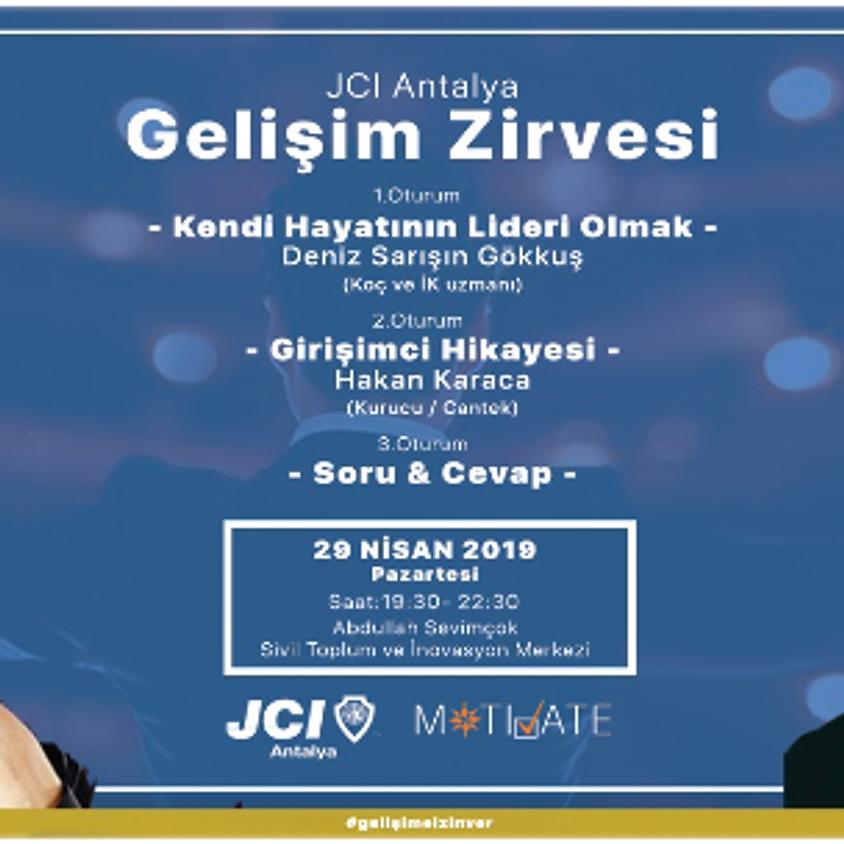 JCI Antalya Gelişim Zirvesi Nisan 2019