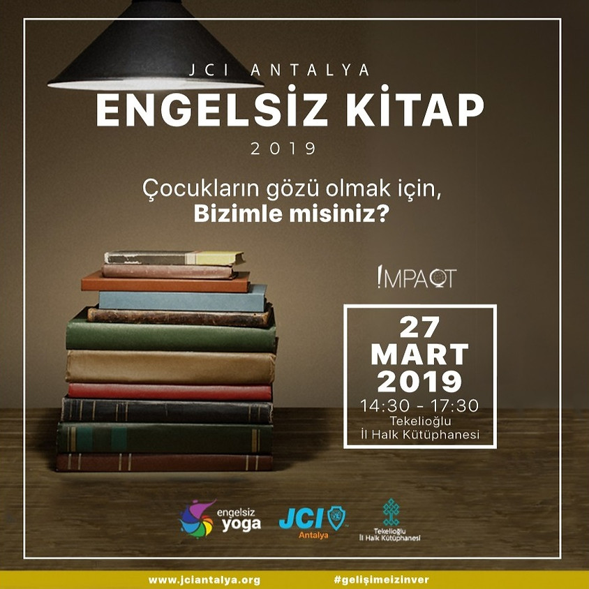Engelsiz Kitap / JCI Antalya
