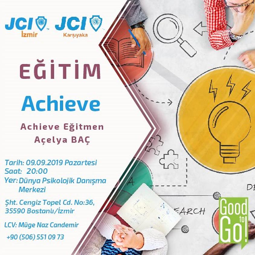JCI İzmir Achieve Eğitimi