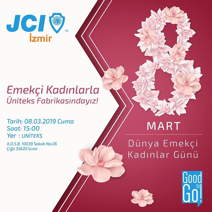 JCI İZMİR 8 Mart Dünya Emekçi Kadınlar Günü Kutlaması