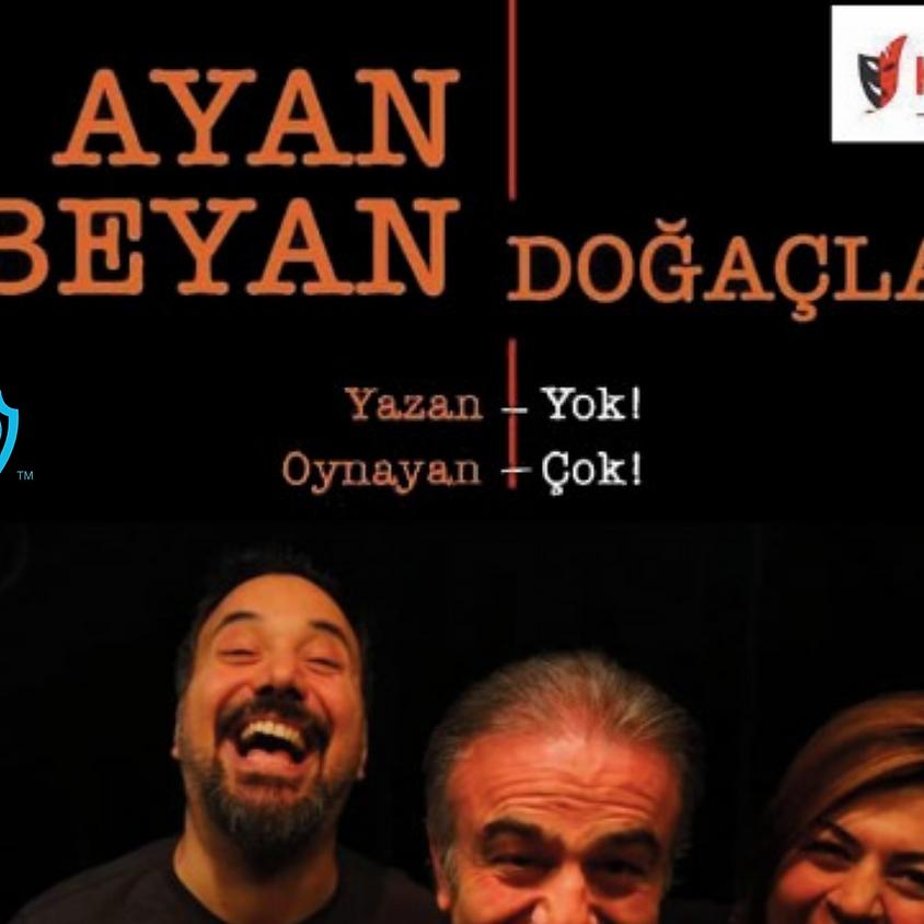 JCI Antalya Ocak Sosyal Etkinlik | Ayan Beyan Doğaçlama Tiyatro