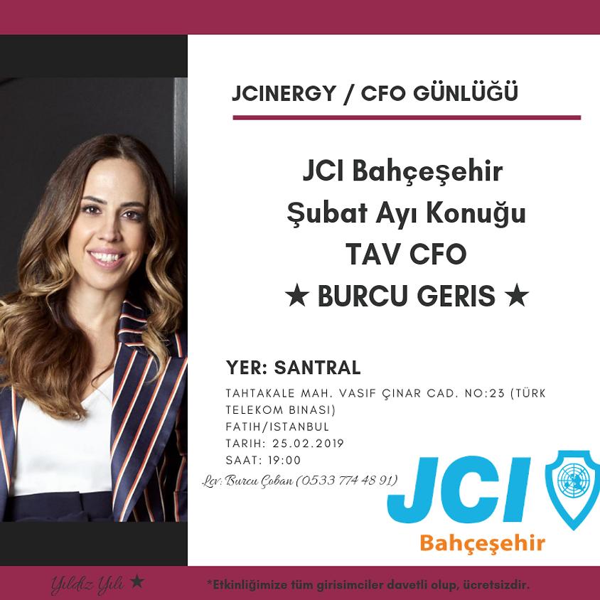 JCI Bahçeşehir JCINERGY CFO Günlüğü Burcu Geriş