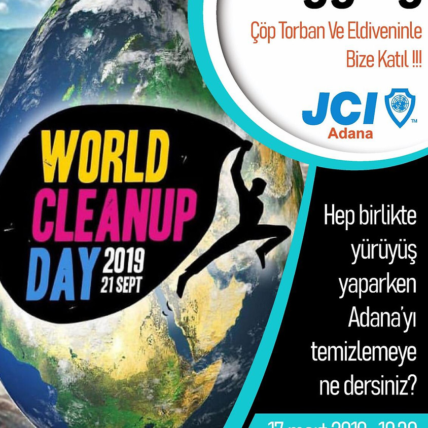 JCI Adana World Cleanup Day -Plogging