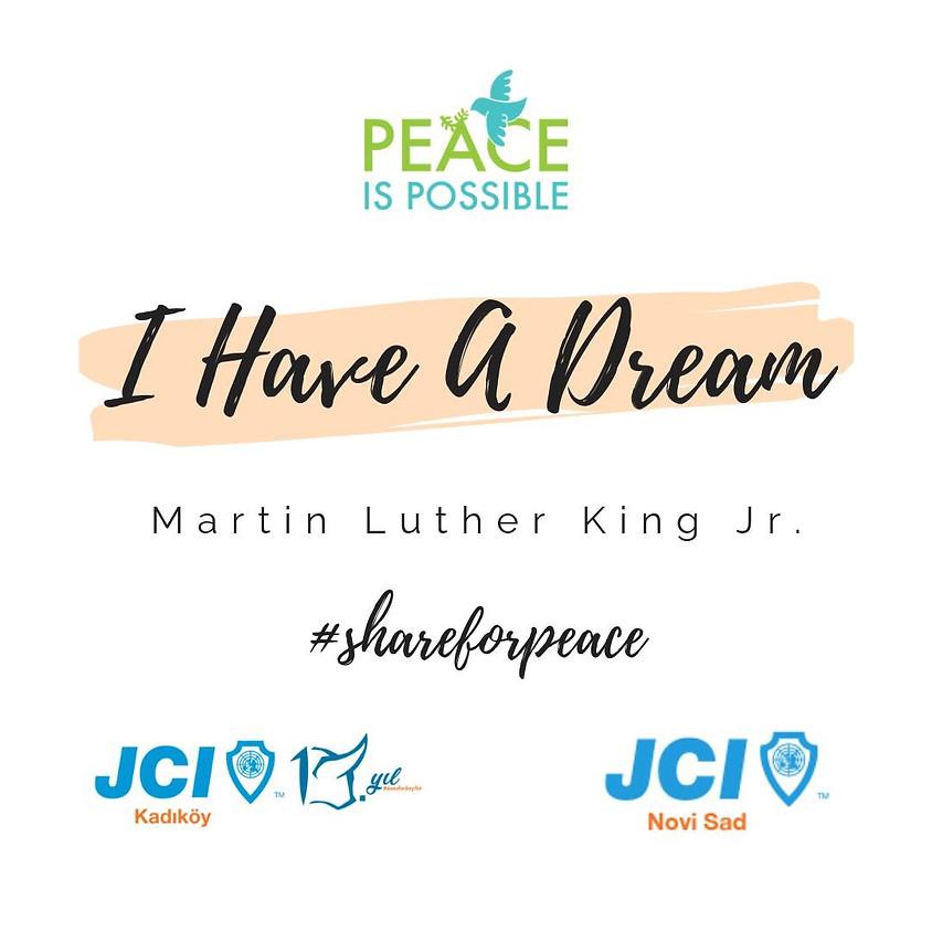 JCI Kadıköy & JCI Novi Sad Share For Peace