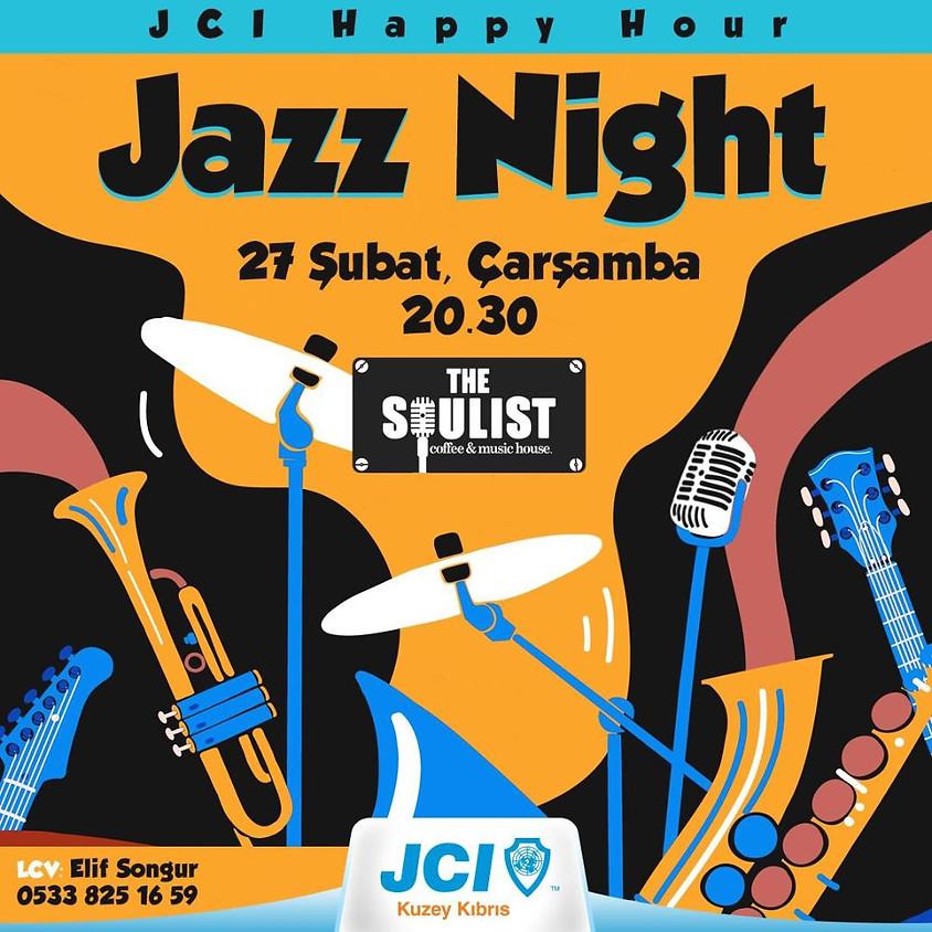 JCI Kuzey Kıbrıs Şubat Ayı  Happy Hour Jazz Night