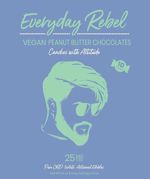 VEGAN Peanut Butter Chocolates