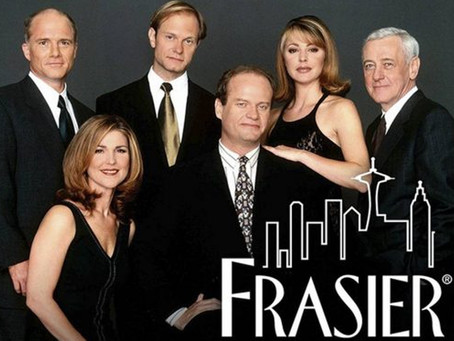 What is CBT? Frasier goes to cognitive-behavioral therapy