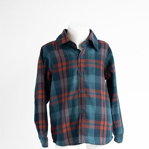 LS check shirt