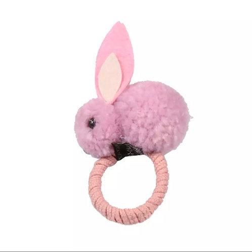 Bunny Scrunchy - pink