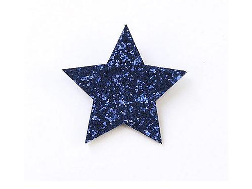 Star Clip - Blue