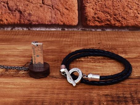 NEWS : for Gift Leather bracelet