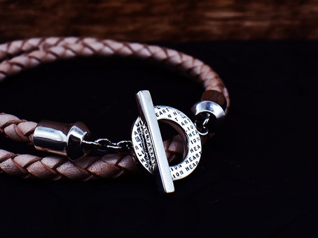 RECOMMEND : for Gift Leather bracelet