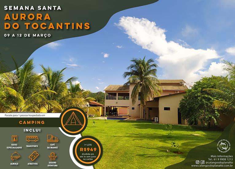 Camping - Semana Santa Aurora do Tocantins