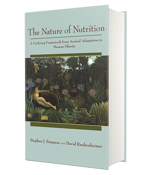 Nature of Nutrition book cover