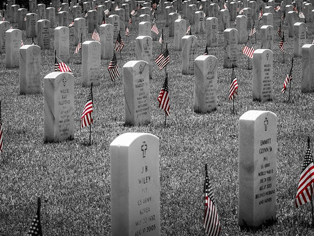 On Memorial Day, let us honor those who gave their lives for our country.