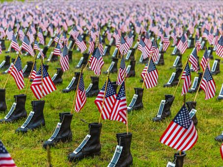 Memorial Day is next week.
