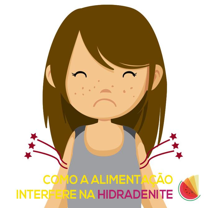 Como a alimentação Interfere na Hidradenite