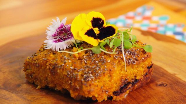 Quibe de Abóbora com Quinoa